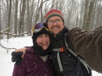 snowshoeing day